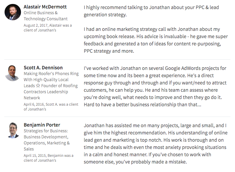 October Marketing linkedin reviews