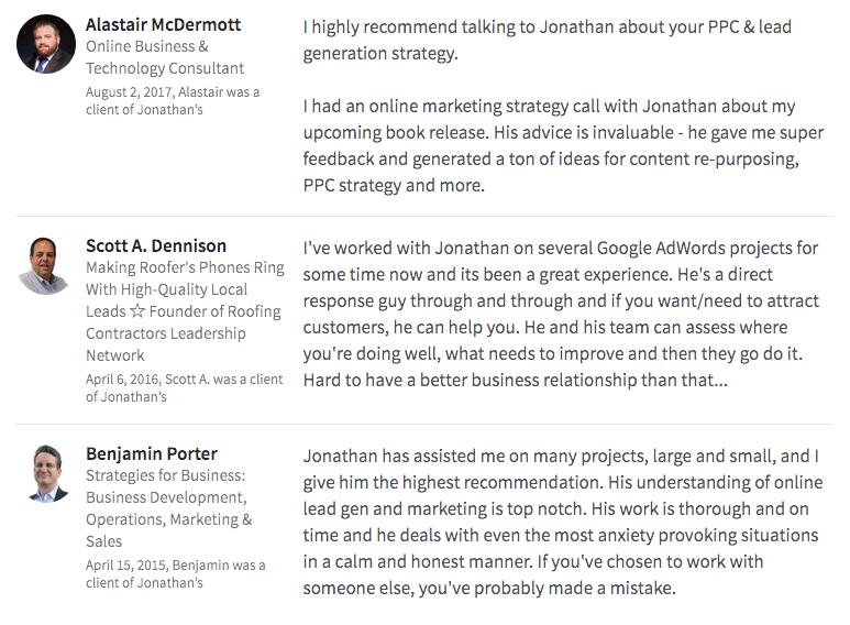 October Marketing linkedin reviews