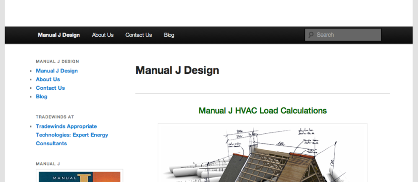 Manual J Design